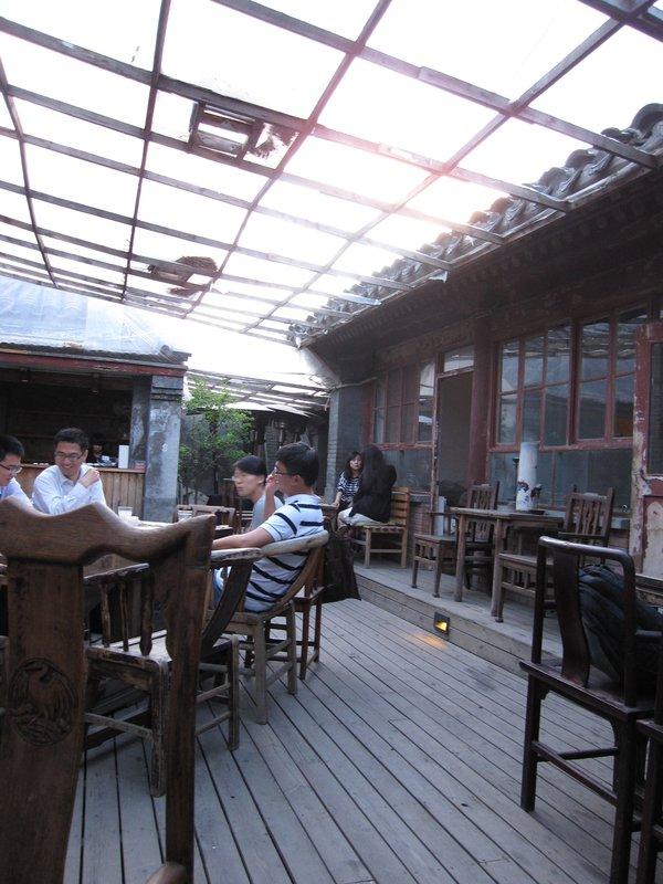 Cafe in Beijing