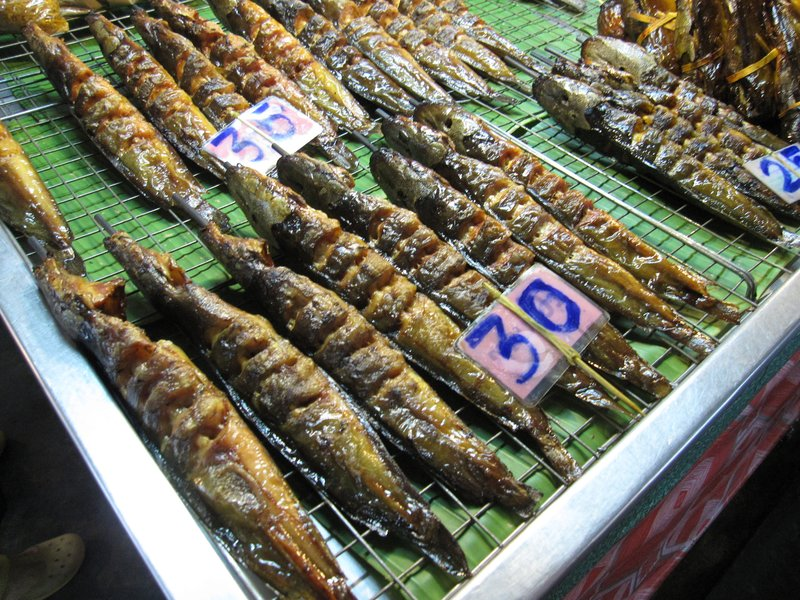 Fish on a stick