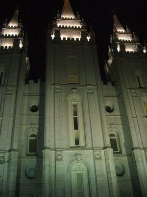 Photos from when Logan proposed (under the Salt Lake Temple)