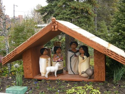 We thought this little NZ themed nativity was cute
