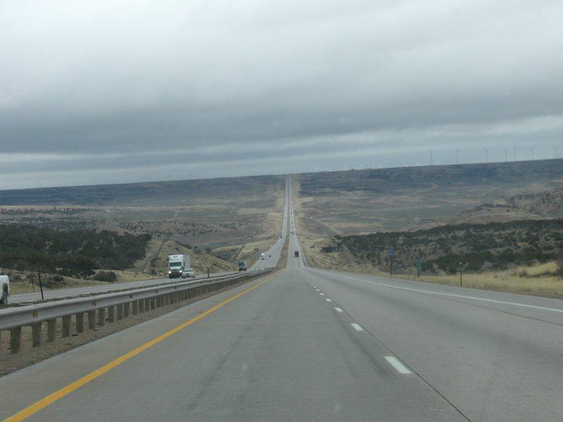a pretty boring drive