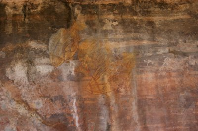 2012 Aug 16 Rock art at Ubirr 1