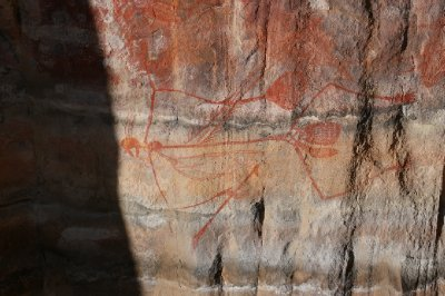 2012 Aug 16 Rock art at Ubirr 3
