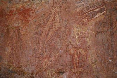 2012 Aug 16 Rock art at Ubirr 6