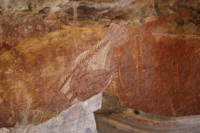 2012 Aug 16 Rock art at Ubirr 8