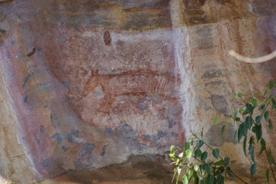 2012 Aug 16 Rock art at Ubirr 9