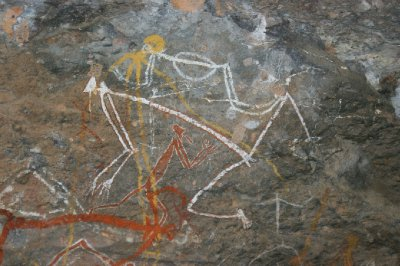 2012 Aug 15 Artwork at Nourlangie Rock 3