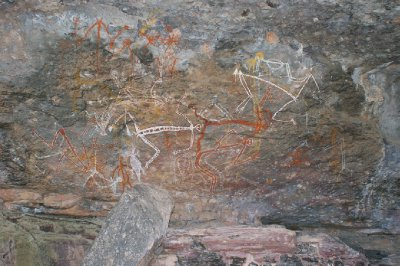 2012 Aug 15 Artwork at Nourlangie Rock 4