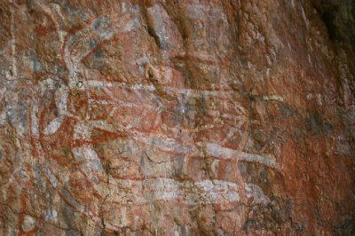 2012 Aug 16 Rock art Nourlangie 2