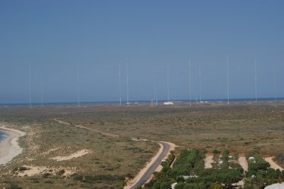 2012 Sep 17 Antenna at Navy Comm Station Exmouth