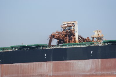 2012 Sep 14 Loading iron ore at Port Hedland 1