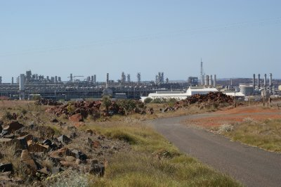 2012 Sep 15 Gas Facility at Dampier 1