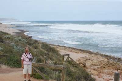 2012 Sep 22 Bob at Murchison River mouth Kalbari