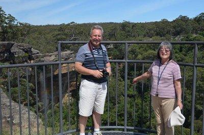 2016 Mar 9 Bob & Hiroe at Tianjara Falls [1600x1200]