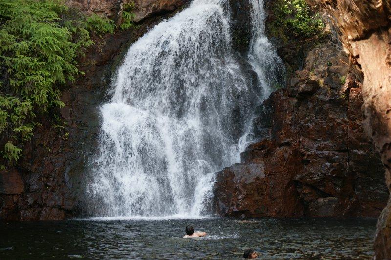 2012 Aug 26 Florence Falls Plunge Pool