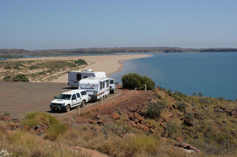 2012 Sep 15 Our Vans near Settlers Beach Cossack