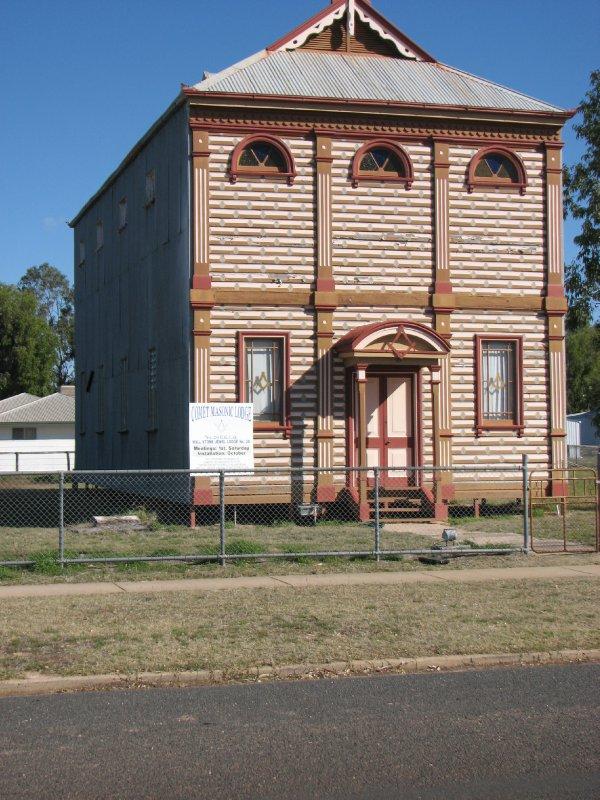 2012 July 26 Masonic Lodge Barcaldine