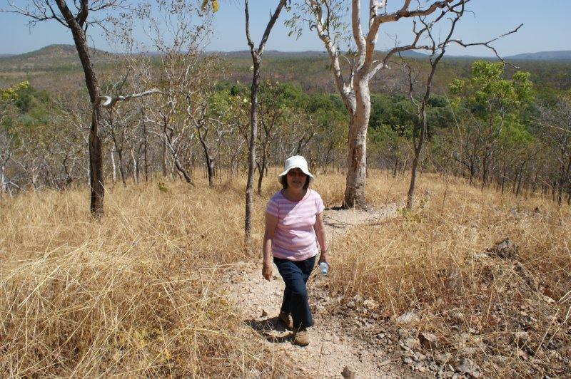 2012 Aug 15 Hiroe climbing Gungurul Lookout