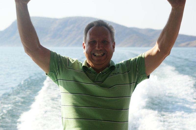 2012 Aug 29 Bob on Cruise Boat