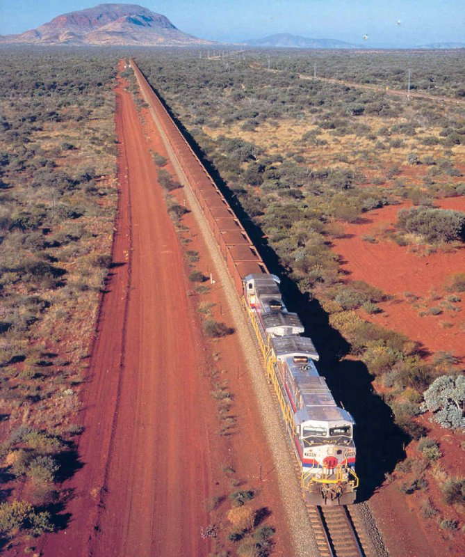 2012 Sep 14 Ore train near Port Hedland