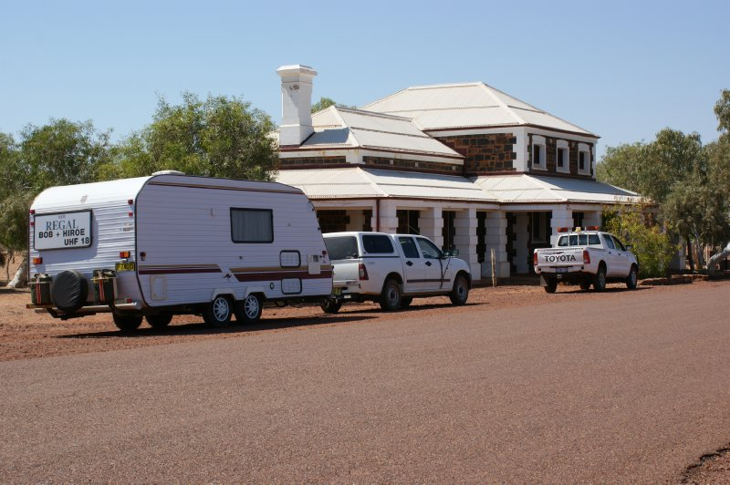 2012 Sep 15 Our van and Cossack Court House