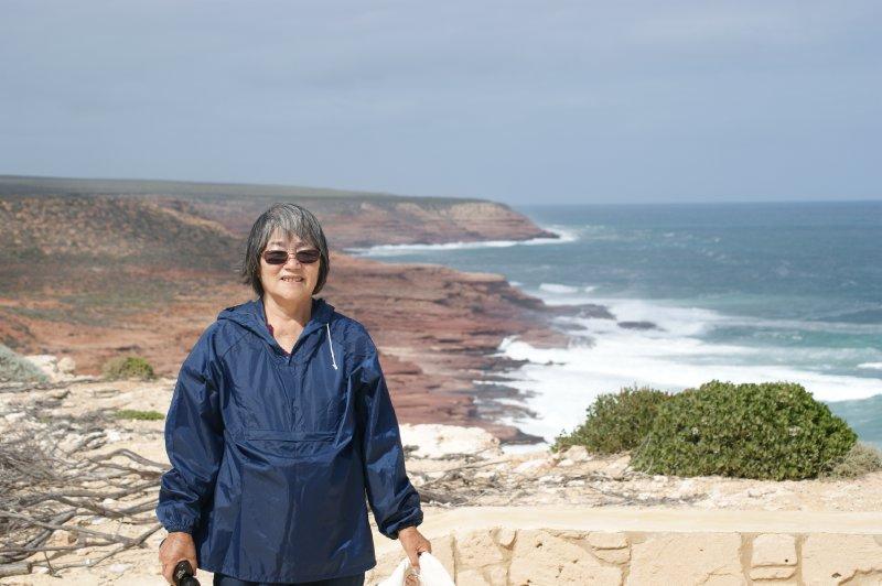 2012 Sep 22 Hiroe at Kalbari cliffs