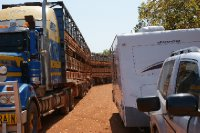 2012 Sep 9 Bobs van and cattle road train