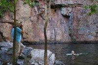 2012 Aug 26 Bob and Florence Falls Plunge Pool