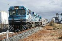 2012 Sep 26 Grain train in Koorda