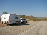 Caravan on Victoria Highway