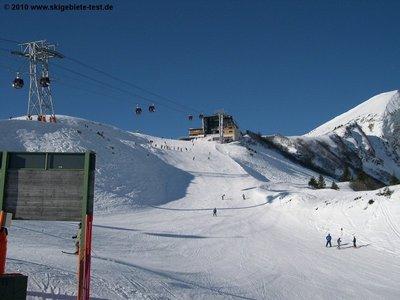 Fellhorn Kanzelwand Skigebiet