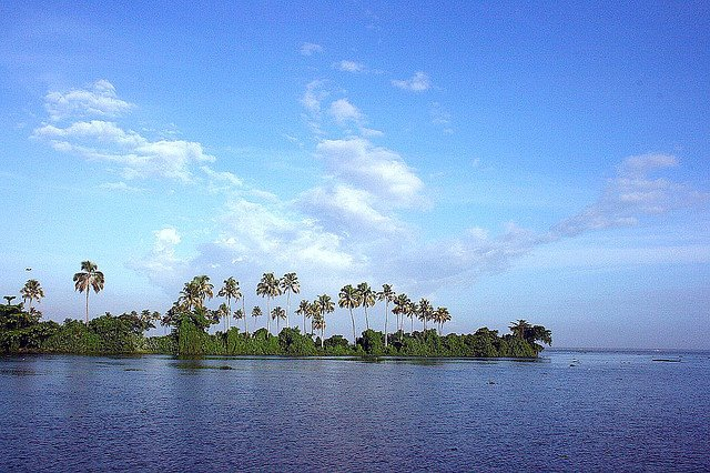 Backwater scenes in Kumarakom