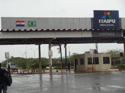 Entrance to Itaipu