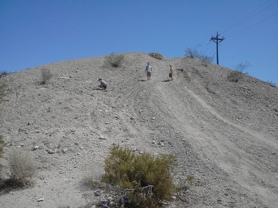 Mojave Desert Mountain climb