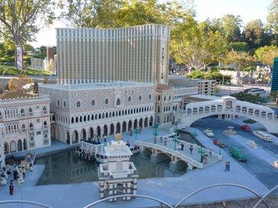 miniland at Lego.