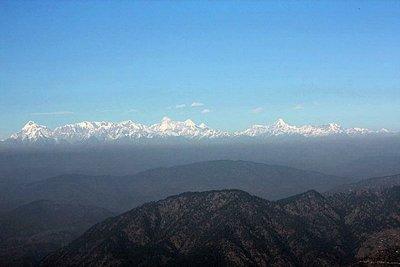 Himalayan peaks from nainital