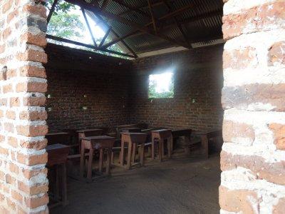 Inside a brand new classroom