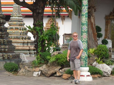Looking good at Wat Pho