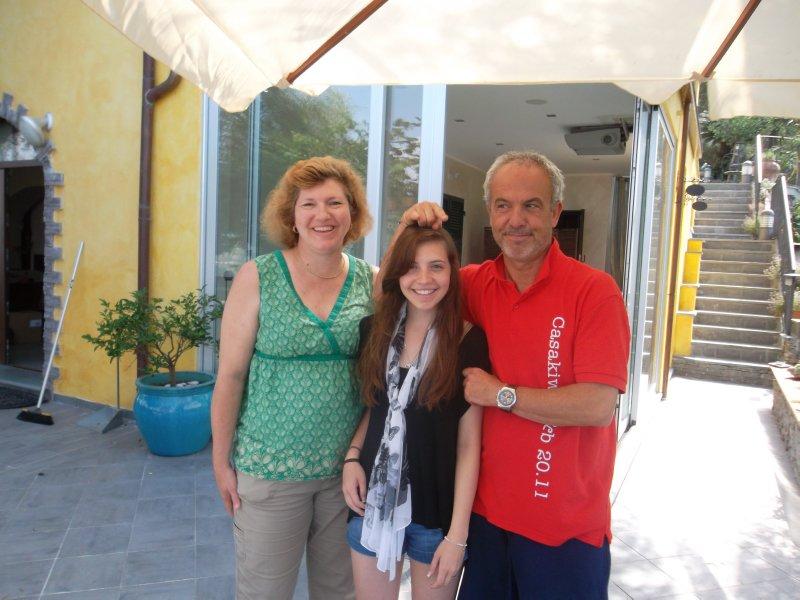 Donda, Brenna with our Casa Kiwi Host