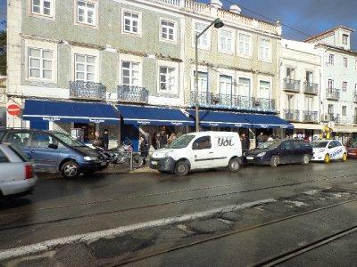 The famous place to buy Pastéis de Belém