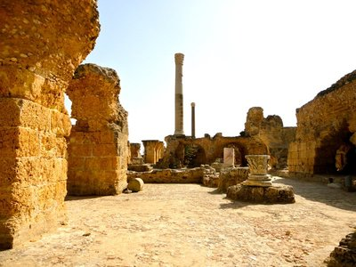 ancient baths....definitely the best of the sites