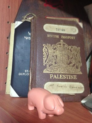 British Mandate of Palestine passport