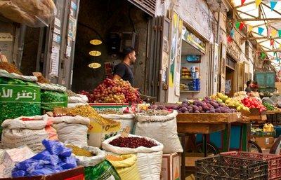 markets in Nablus