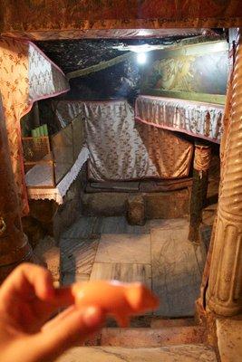 Jesus' birth cave