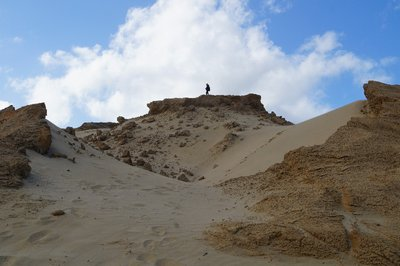 Sandboarding North's Head (3)