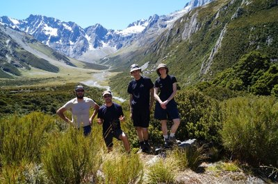 Tramping in Huxley Valley(44)