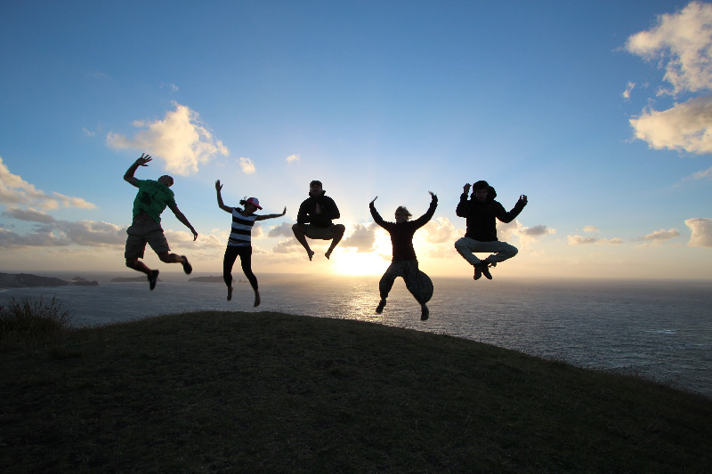 The trip wouldn&#39;t have been complete without a jump picture! <img class='img' src='http://www.travellerspoint.com/img/emoticons/icon_wink.gif' width='15' height='15' alt=';)' title='' />