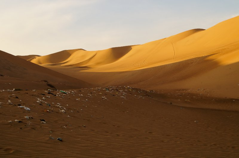 Unfortunately for some people, locals and tourists, the desert is also a huge waste... <img class='img' src='http://www.travellerspoint.com/Emoticons/icon_sad.gif' width='15' height='15' alt=':(' title='' />