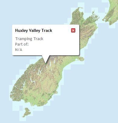 Huxley Valley Track