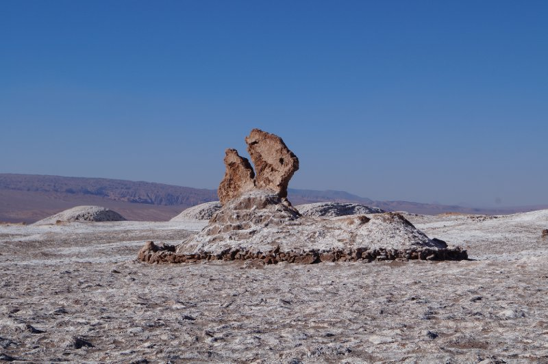 "Salt rock formation, ""Las 3 Marias"""